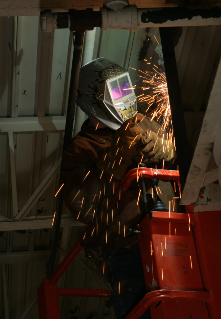 UBC millwright welding