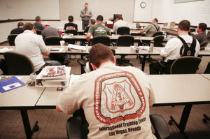Training UBC Millwrights in technical skills and quality standards