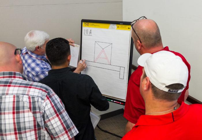 UBC millwrights at training