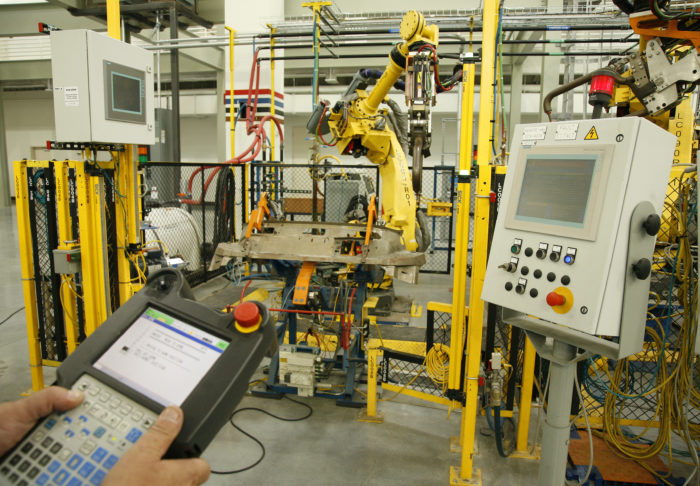Calibrating industrial robot