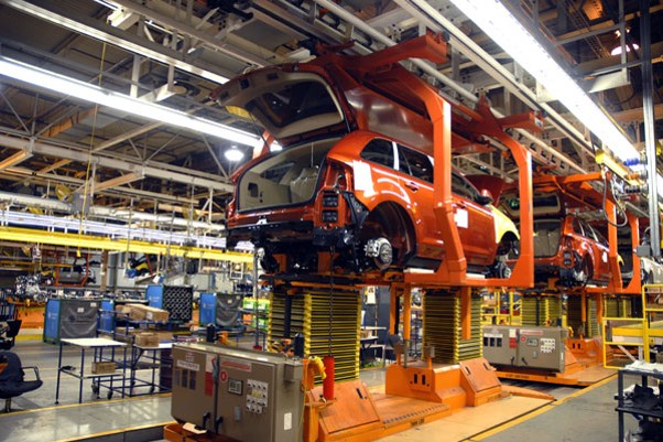 UBC millwrights work in auto assembly operation
