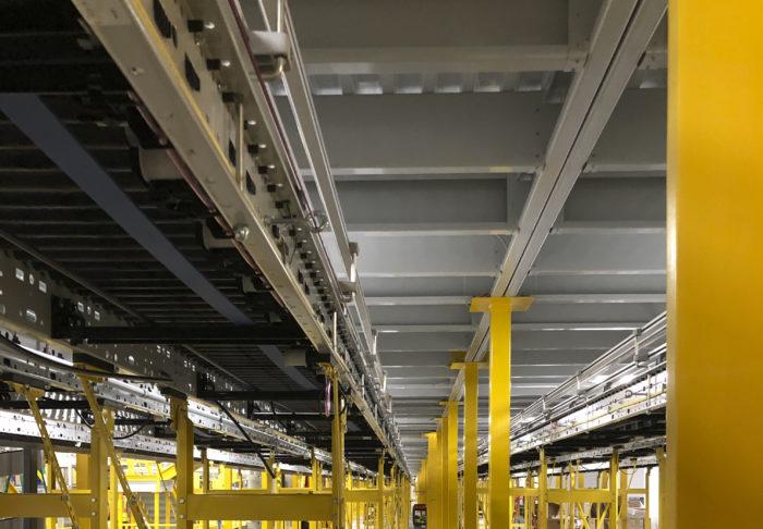 Material handling operation