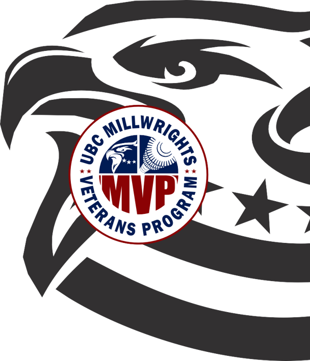 UBC Millwrights Veterans Program Logo